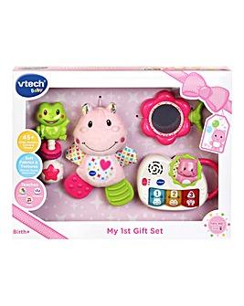 V-tech Baby Newborn Gift Set Pink