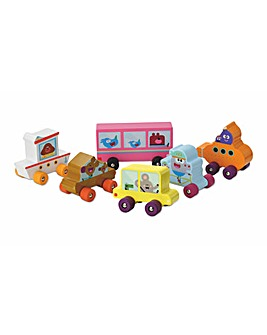 Hey Duggee 6 Pack Play Vehicles