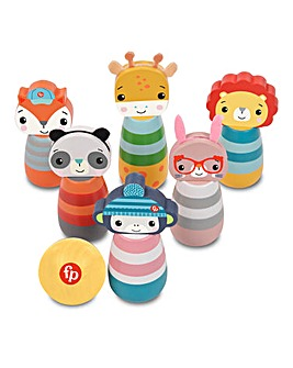Fisher Price Wooden Character Skittles