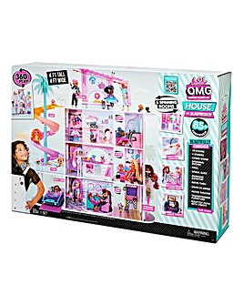 LOL Surprise OMG House of Surprises Real Wood Doll House with 85+ Surprises