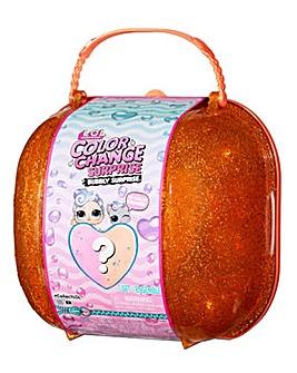 LOL Surprise Colour Change Bubbly Surprise Orange with Exclusive Doll & Pet
