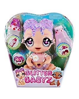 Glitter Babyz Lila Wildboom Baby Doll