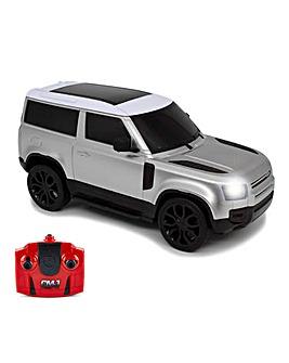 1:24 Land Rover New Defender Silver Remote Control Car