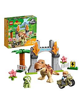 LEGO Duplo Jurassic World T-Rex and Triceratops Dinosaur Breakout - 10939