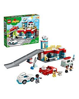 LEGO Duplo Parking Car Park and Car Wash - 10948