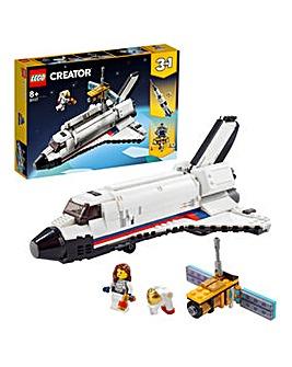 LEGO Creator 3in1 Space Shuttle Adventure - 31117