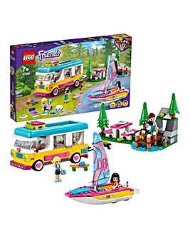 LEGO Friends Forest Camper Van and Sailboat - 41681
