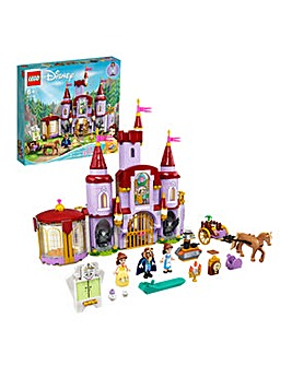 LEGO Disney Belle and the Beast's Castle - 43196