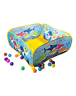 Baby Shark Ball Pit with 20 Balls