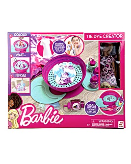 Barbie TieDye Creation Station With Doll & Dresses