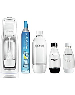 Sodastream Jet White Megapack Bundle