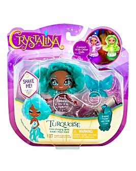 Crystalina Turquoise Doll