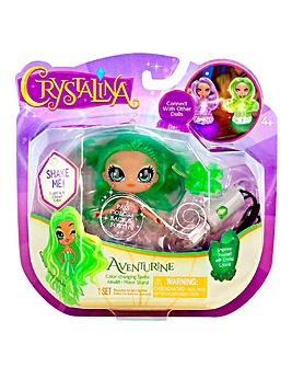 Crystalina Aventurine Doll