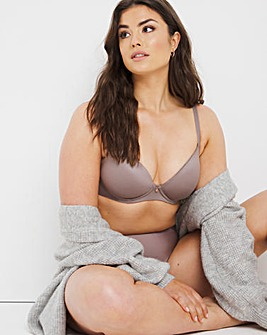 Figleaves Smoothing Sweetheart Full Cup Underwired T-Shirt Bra B-H