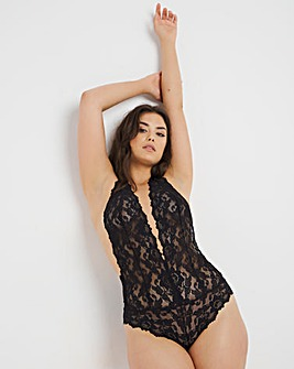 Figleaves Millie Lace Plunge Body