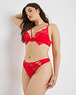 Figleaves Ava Exposed Wire Plunge Bra
