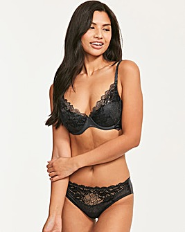 Lace Perfection A-DD Plunge Push Up Bra