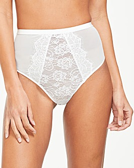 Pulse Lace High Waist Brief