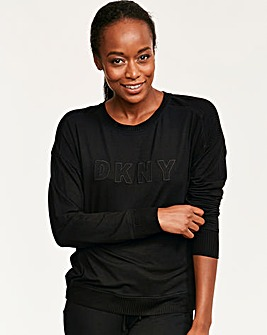 DKNY Core Essentials Long Sleeve Top