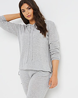 Figleaves Bliss Cashmere Tie Detail Hoody