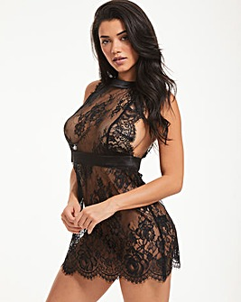 Gigi Galloon Lace Babydoll