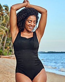 Rene Underwired Square Neck Tummy Control Swimsuit