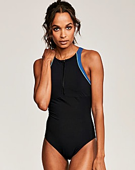 Freestyle Colourblock Shaping Swimsuit
