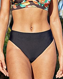 Rene High Waist High Leg Tummy Control Bikini Bottom