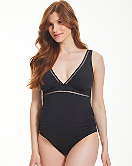 Icon Milan Maternity Non-Wired Plunge Ladder Swimsuit