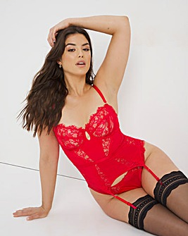 Figleaves Pulse Underwired Balcony Basque