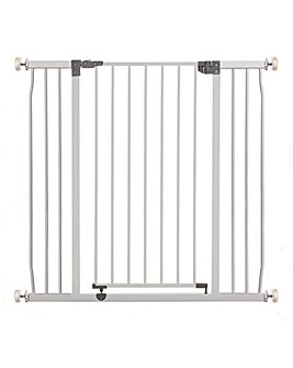 Dreambaby Liberty Xtra Tall Xtra Wide Hallway Metal Safety Gate Pressure Mounted