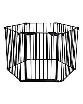 Dreambaby Mayfair 3in1 Converta Metal 6 Panel Playpen/Wide Barrier/Fire Barrier