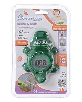 Dreambaby Digital Screen Room & Bath Thermometer - Crocodile