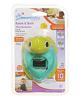 Dreambaby Digital Screen Room & Bath Thermometer - Turtle