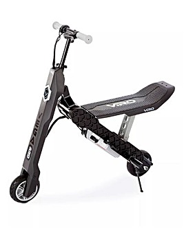 VIRO Vega Pro Transforming 2-in-1 Electric Scooter - Grey/Black