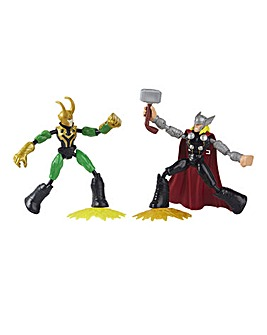 Marvel Avengers Bend & Flex Thor vs Loki