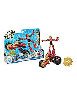 Marvel Avengers Bend & Flex - Rider Iron Man