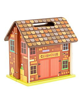 Hey Duggee Wooden Carry Along House with 6 Characters