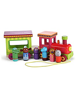 Hey Duggee Wooden Light and Sound Train