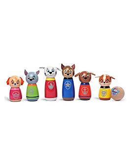 Paw Patrol Wooden Character Skittles