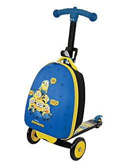 Minions 2 3 in1 Scootin Suitcase