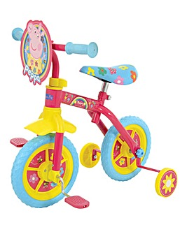 Peppa Pig 2in1 10in Training Bike