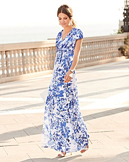 Together Floral Maxi Dress