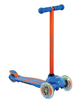 uMoVe LED Scooter - Blue / Orange