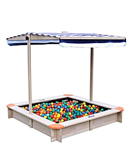 Hedstrom Play Sand and Ball Pit with Canopy