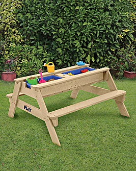 Hedstrom Play Sand, Water and Ball Play Table and Bench