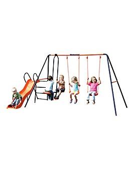 Hedstrom Europa: 2 x Swing, Glider, Slide