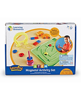 Learning Resources Learning Essentials STEM Magnets Activity Set