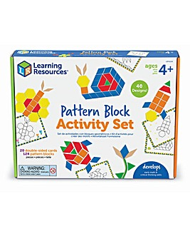 Learning Resources Pattern Blockers Activity Set