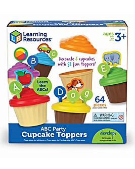Learning Resources ABC Party Cupcake Toppers